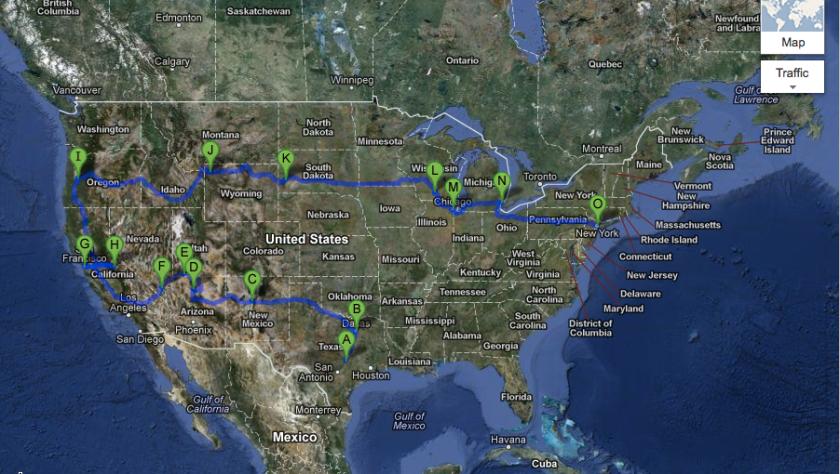 My Road Trip #6500miles